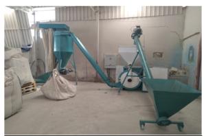 Saatte 400-450 kg verim elde edilmektedir.